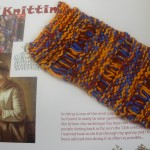 Knitting sample